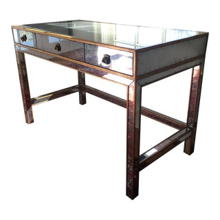 John Richard Collection Mirrored Writing Desk