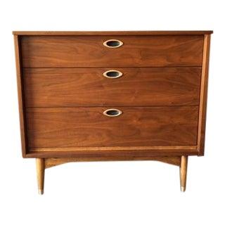 Hooker Mainline Mid-Century 3 Drawer Dresser