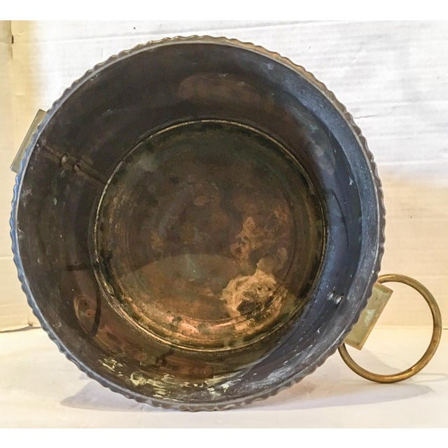Vintage Brass Chinoiserie Ice Bucket - Image 6 of 7