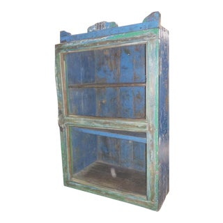 Antique Farmhouse Rustic Cupboard
