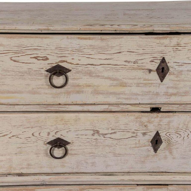 19th Century Swedish Painted Chest-on-Chest - Image 5 of 7