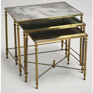 French Neoclassical Nesting Tables - Set of 6