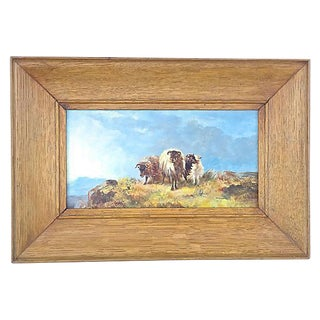 J. Donovan Adams Antique Landscape Painting