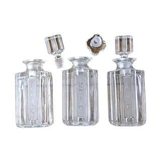 Vintage Liquor Decanter Set
