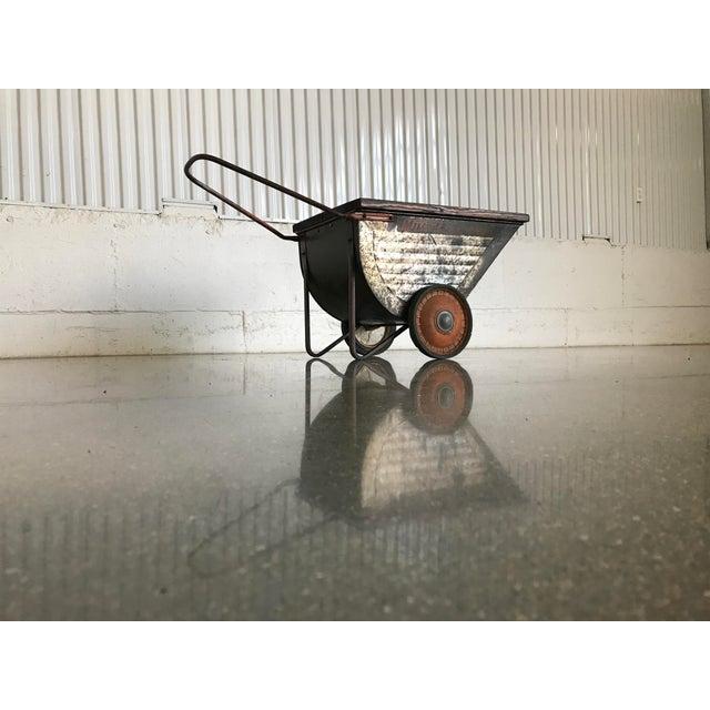Image of Vintage Industrial Cart Table or Beverage Cart