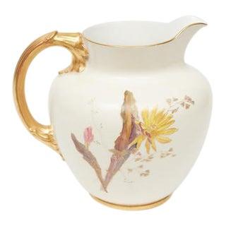 Royal Worcester Porcelain Jug