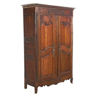 French Fruitwood Armoire