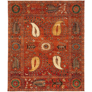 """Ziegler Hand Knotted Area Rug- 8'5"""" X 9'10"""""""