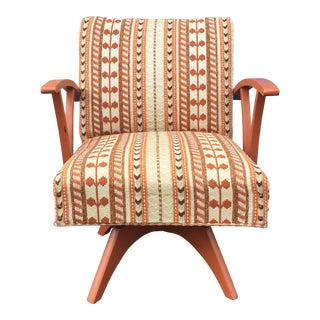 Mid-Century Bohemian Lounge Chair