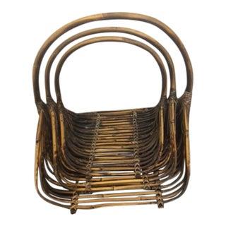 Bamboo Flower Baskets - Set of 3