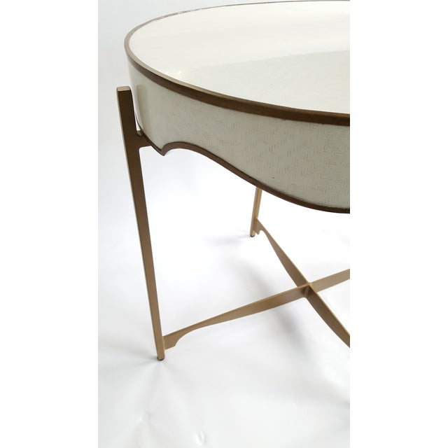 Gabby Trudy Oval Side Table - Image 4 of 5