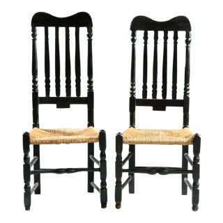 Pair of Banister-Back Chairs