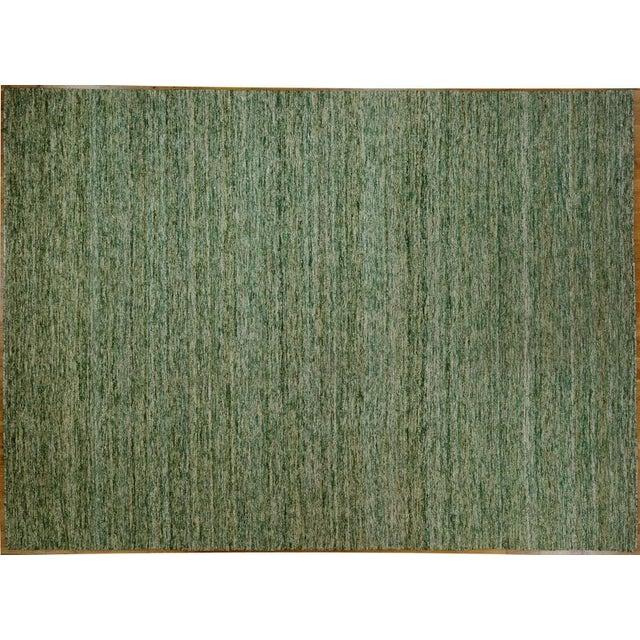 Sari Silk Flatweave Rug - 9′ × 12′ - Image 2 of 5