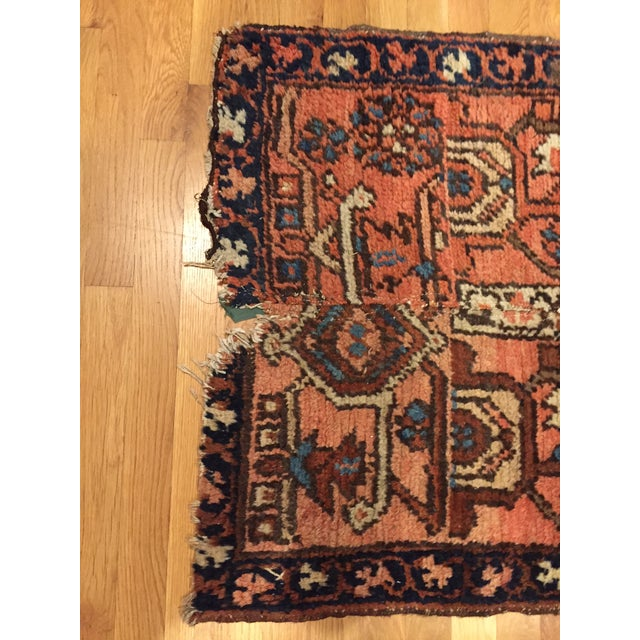 Vintage Hand Woven Persian Runner - 2′6″ × 8′ - Image 8 of 10