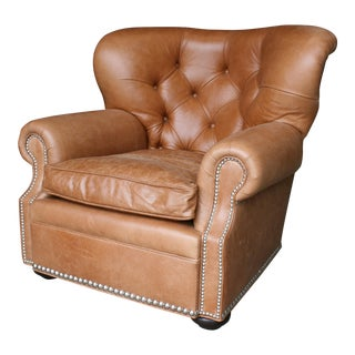 Barclay Butera Huntington Leather Club Chair