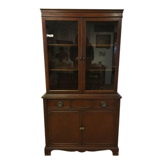 Thomasville Mahogany China Cabinet