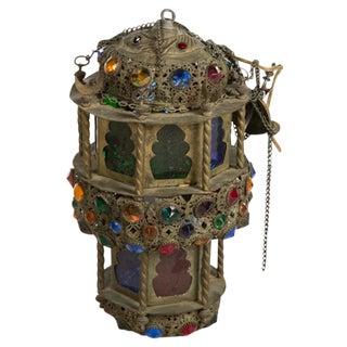Jeweled Moroccan Lantern II