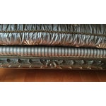 Image of Vintage French Country Couch with 6 Pillows