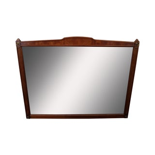 Kindel Belvedere Regency Style Fruitwood Mirror