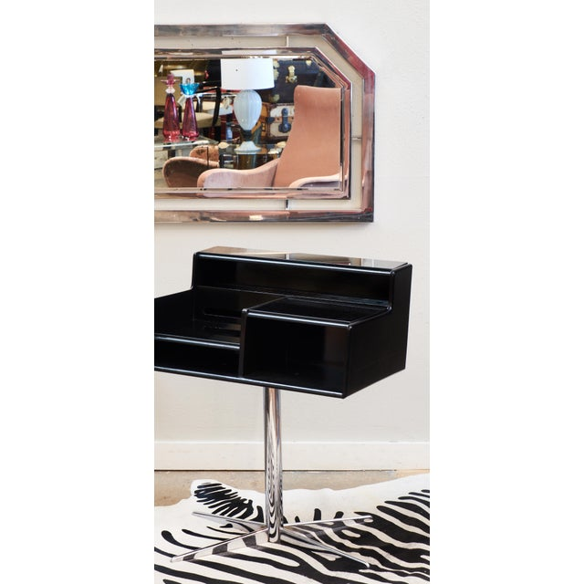 French Mid-Century Modern Telephone Table - Image 5 of 10