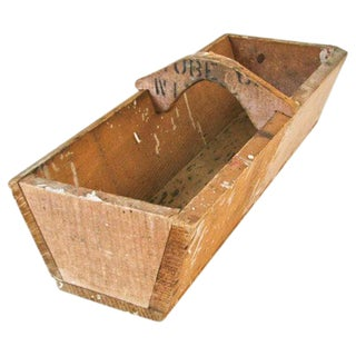 Handmade Primitive Wood Box