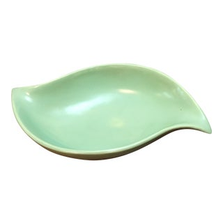 Vintage Mint Green Candy Dish Bowl