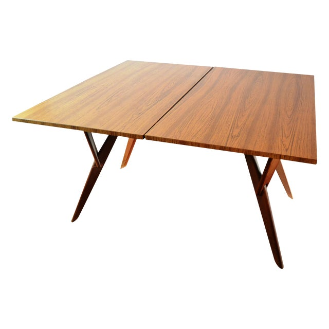 Mid-Century Convertible Castro Dining/Coffee Table - Image 1 of 11