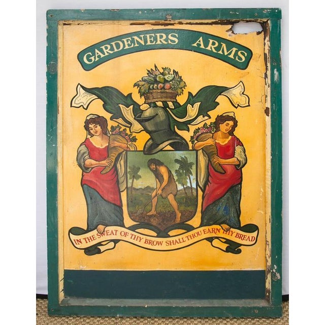 """English Pub Sign """"Gardeners Arms"""" - Image 2 of 7"""