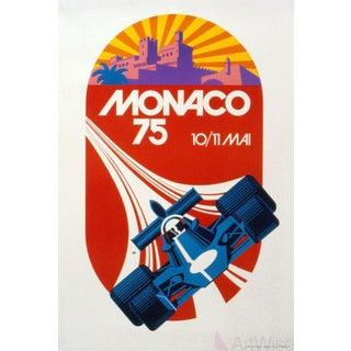 Roland Hugon, Monaco Grand Prix 1975-1991 Lithograph