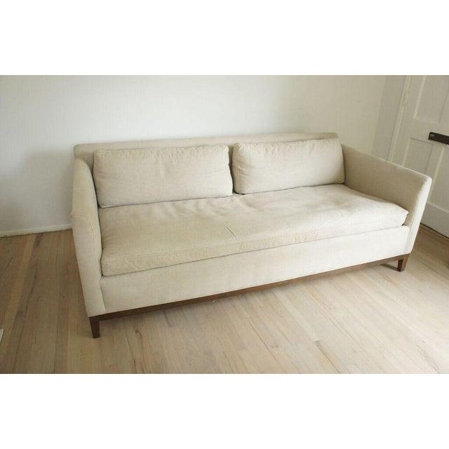 Cisco Home Flax Linen Sofa - Image 4 of 10