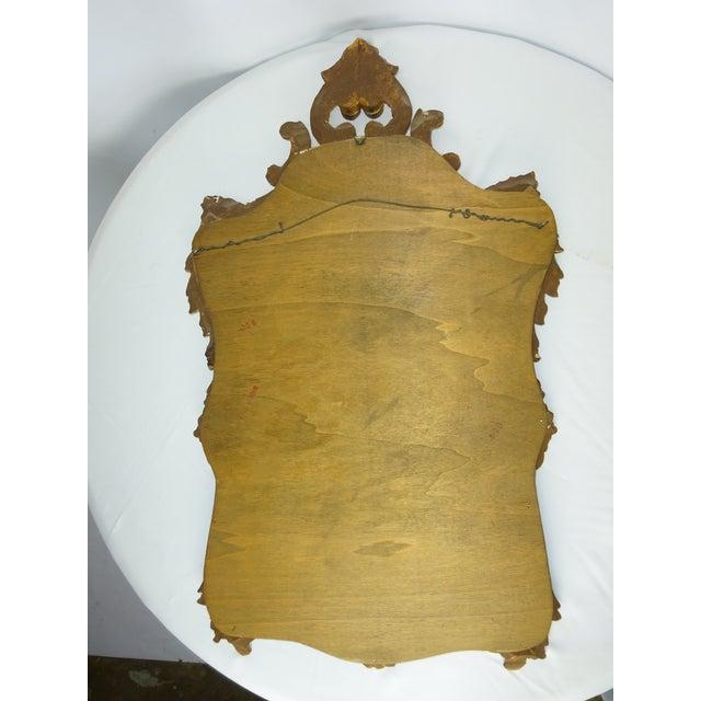 Image of Italian Gilt Carved Louis XV Mirror
