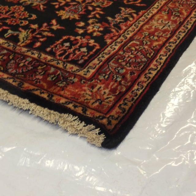 "Persian Sarouk Wool Runner Rug - 10'3"" x 2'7"" - Image 3 of 3"