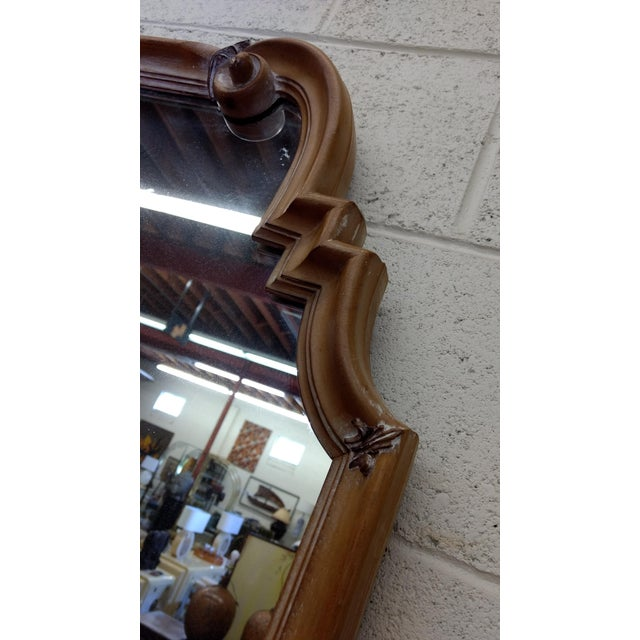 Image of Vintage Ethan Allen Italian Made Gold Mirror