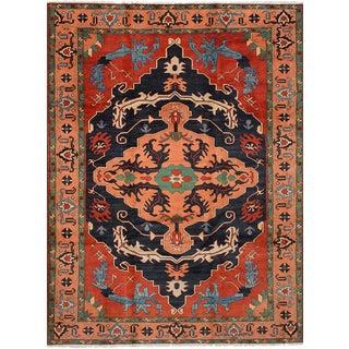 """Finest Kargahi Afghan Rug, 8'11"""" x 12'0"""""""