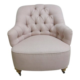 Ethan Allen Chesterfield Lounge Chair