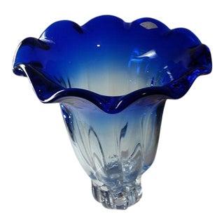 Murano Mid Century Large Vase