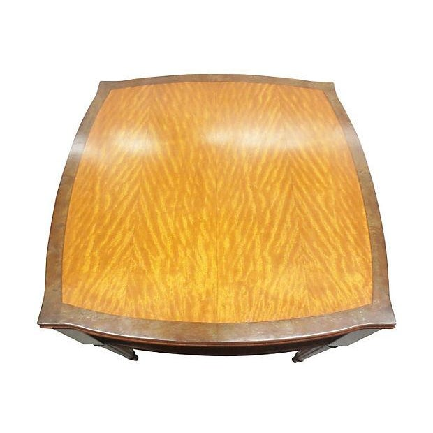 Inlaid Henredon Mahogany Side Tables - Pair - Image 4 of 8
