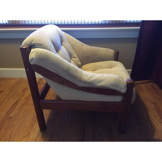 Domino Mobler Danish Modern Teak Lounge Chair (3 Available) - Image 5 of 8