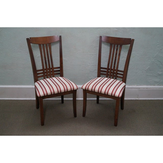 Bermex Traditional Maple Wood Dining Chairs - 6 - Image 2 of 10