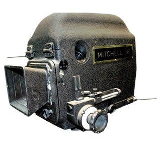 Original Mitchell Camera 16mm Camera Studio Blimp Housing. Circa 1940. Display As Sculpture.