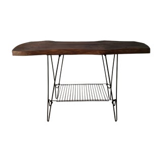 Mid Century Modern Hairpin Console Table
