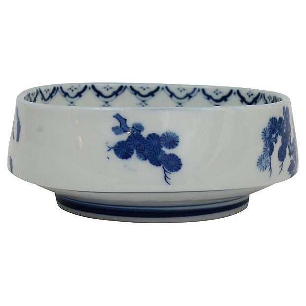 Antique Chinese Blue & White Bowl - Image 3 of 6
