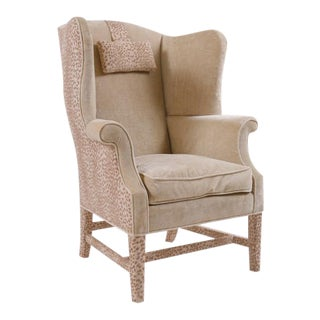 George III Wingback Armchair