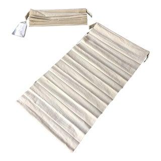 Restoration Hardare Linen Roman Shades - A Pair