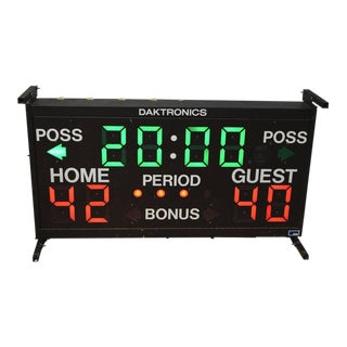 Basketball Scoreboard from Daktronics