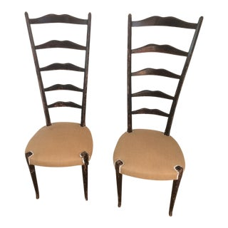 Vintage 1950s Side Chairs - A Pair