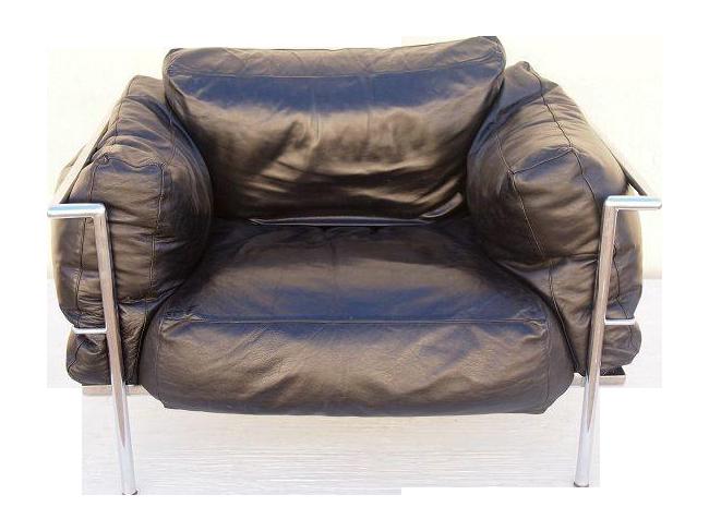 le corbusier lc2 lounge chair