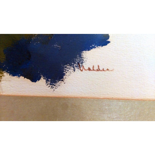 Nan Nalder Abstract Secluded Church Painting - Image 3 of 7