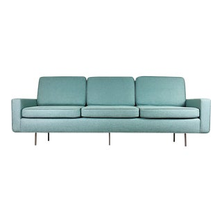 Blue Florence Knoll Sofa