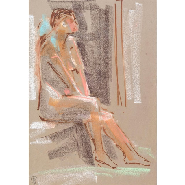 Seated Nude by Virginia Sevier Rogers - Image 1 of 6